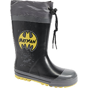Levně Černo-šedé holínky Batman