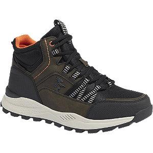 E-shop Khaki kotníková obuv s TEX membránou Tom Tailor