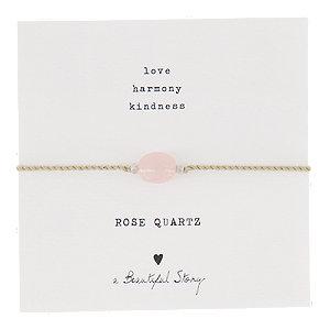 Image of A Beautiful Story Gemstone Geschenkkarte mit Steinband
