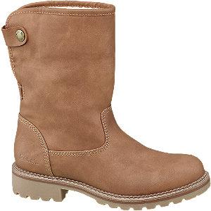 Modalite Deichmann Tan Warm Lined Ankle Boots