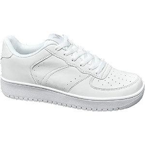 Deichmann Ladies VTY White Lace-up