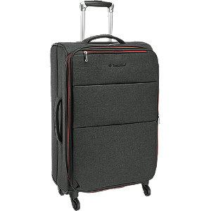 Levně Antracitový cestovní kufr Saxoline_ vel.M