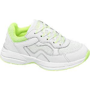 Levně Bílé chunky tenisky Esprit