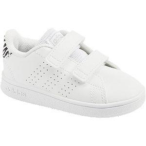Levně Bílé dětské tenisky Adidas Advantage I