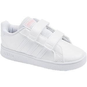 Levně Bílé dětské tenisky Adidas Grand Court I