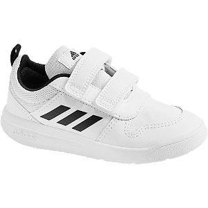 Levně Bílé dětské tenisky Adidas Tensaur