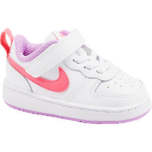 Levně Bílé dětské tenisky Nike Court Borough Low 2
