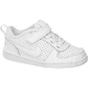 Levně Bílé dětské tenisky na suchý zip Nike Cout Borough Low