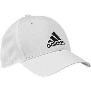 Levně Bílá kšiltovka Adidas BBall Cap Lt Emb
