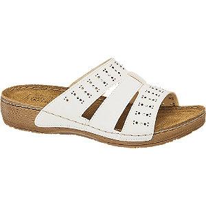 Levně Bílé komfortní pantofle Easy Street