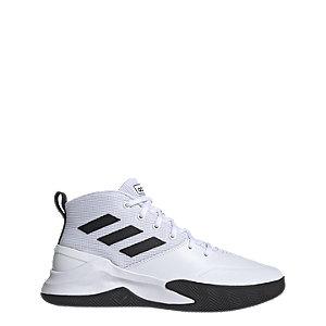 Levně Bílé kotníkové tenisky Adidas Own The Game