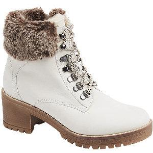Levně Bílá šněrovací obuv 5th Avenue