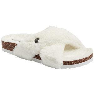 Levně Bílé pantofle Esprit