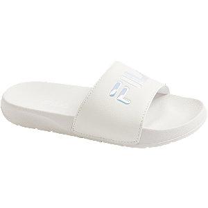 Levně Bílé pantofle Fila