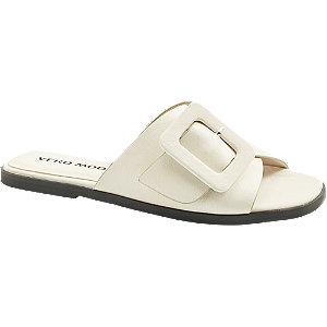 Levně Bílé pantofle Vero Moda