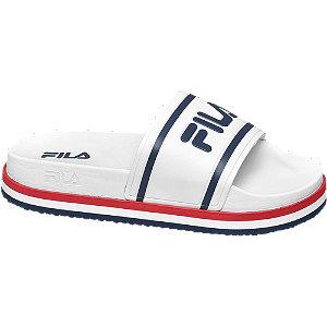 Levně Bílé plážové pantofle Fila