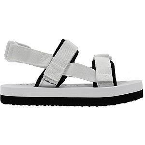Levně Bílé plážové sandále Vero Moda
