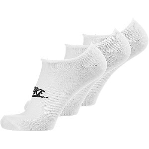 Levně Bílé ponožky Nike_ 3 páry