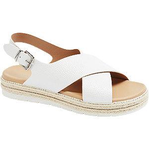 Levně Bílé sandály Catwalk