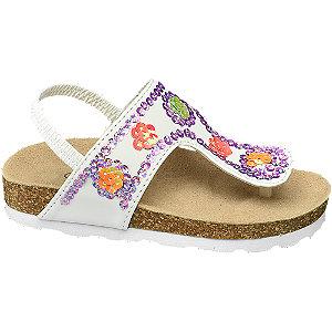 Levně Bílé sandály Cupcake Couture