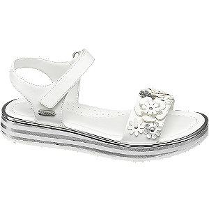 Levně Bílé sandály Esprit na suchý zip