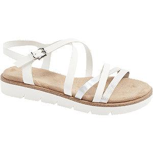 Levně Bílé sandály Graceland