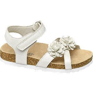 Levně Bílé sandály na suchý zip Cupcake Couture