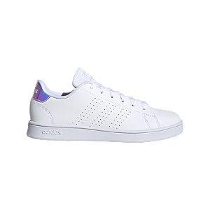 Levně Bílé tenisky Adidas Advantage K