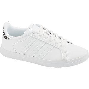 Levně Bílé tenisky Adidas Court Point