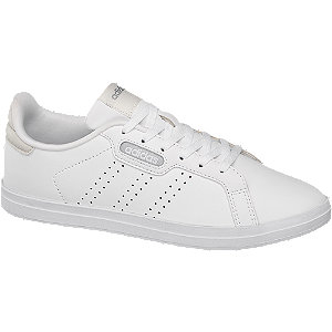 Levně Bílé tenisky Adidas Courtpoint CL X
