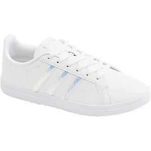 Levně Bílé tenisky Adidas Courtpoint X