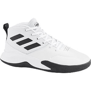 Levně Bílé tenisky Adidas Own The Game