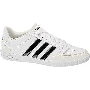 Levně Bílé tenisky Adidas Vl Hoops Low