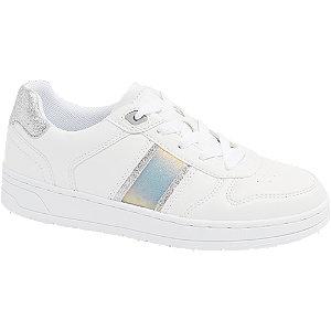 Levně Bílé tenisky Graceland s metalickými detaily