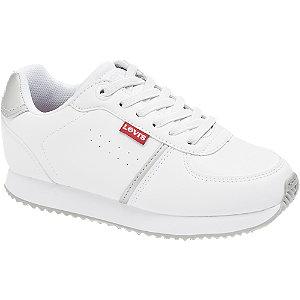Levně Bílé tenisky Levis