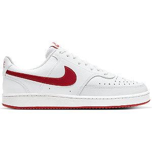Levně Bílé tenisky Nike COURT VISION LO
