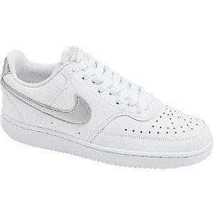 Levně Bílé tenisky Nike Court Vision