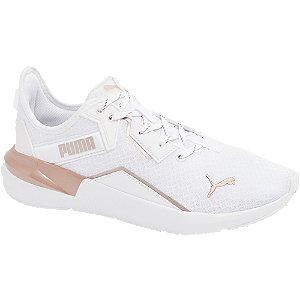 Levně Bílé tenisky Puma