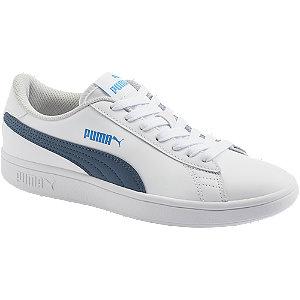 Levně Bílé tenisky Puma Smash V2 L Jr