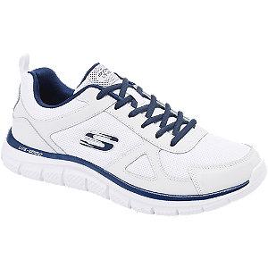 Levně Bílé tenisky Skechers