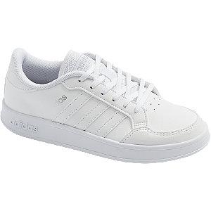 Levně Bílé tenisky adidas Breaknet