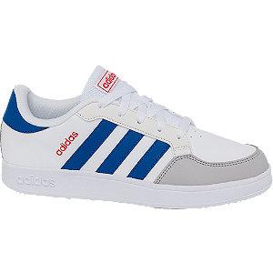 Levně Bílé tenisky adidas Breaknet K