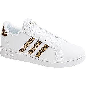 Levně Bílé tenisky adidas Grand Court K