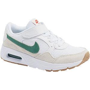 Levně Bílé tenisky na suchý zip Nike Air Max