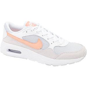 Levně Bílo-šedé tenisky Nike Air Max Sc Bg