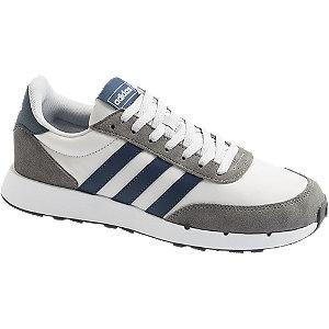 Levně Bílo-šedé tenisky adidas Run 60 s 2.0