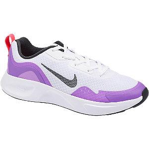 Levně Bílo-fialové tenisky Nike Wear All Day
