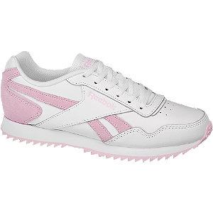 Levně Bílo-růžové tenisky Reebok Royal Glide