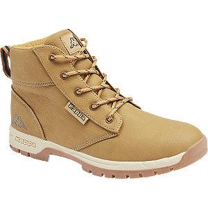 Levně Béžová kotníková obuv se zipem Kappa Cammy T