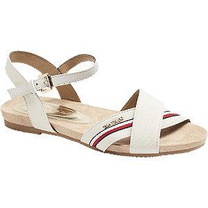 Levně Béžové sandály Tom Tailor